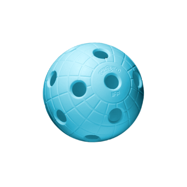 Floorball Crater neon blau