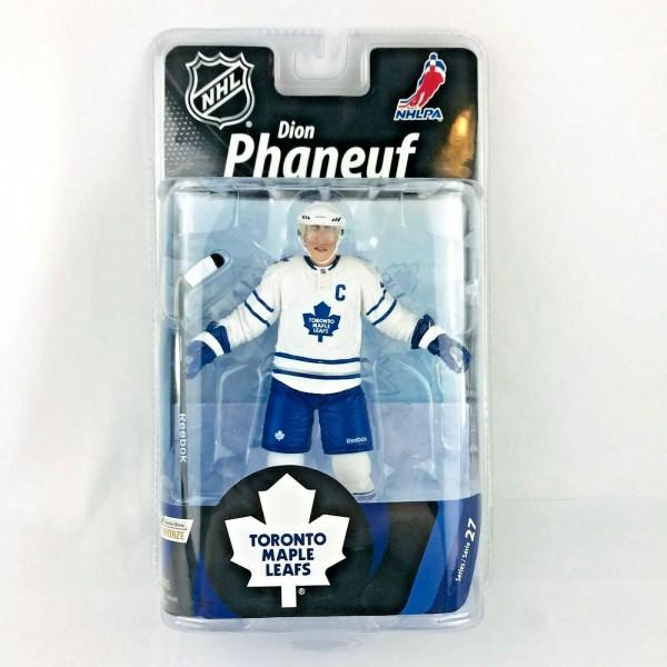 NHL Spielerfigur Dion Phaneuf Toronto Maple Leafs