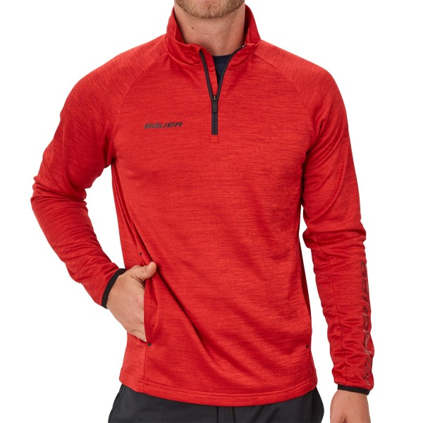BAUER Vapor Fleece 1/4 Zip Top Senior