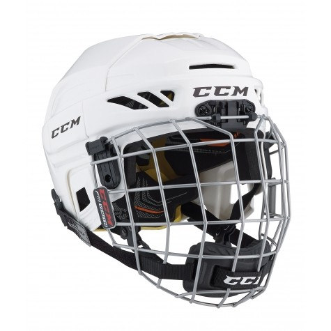 CCM Helm Fitlite 3DS Youth Combo