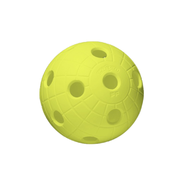 Floorball Crater neon gelb