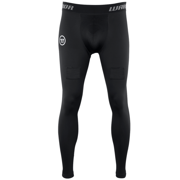 Warrior Comp Legging schwarz Junior