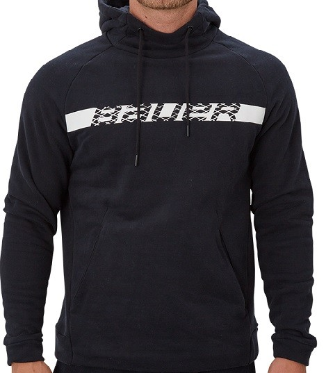Bauer Hoody Perfect W/Graphic Schwarz Senior